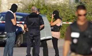 Terror Attack monitor france