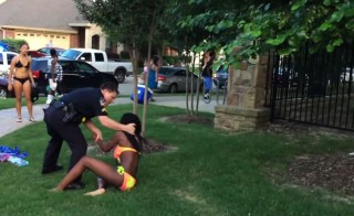 mckinney police pool party