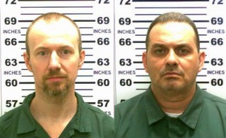 David Sweat (L) and Richard Matt (R) are pictured  in undated handout photos. Sweat and Matt escaped from a maximum security prison in upstate New York Saturday. Photo by Reuters