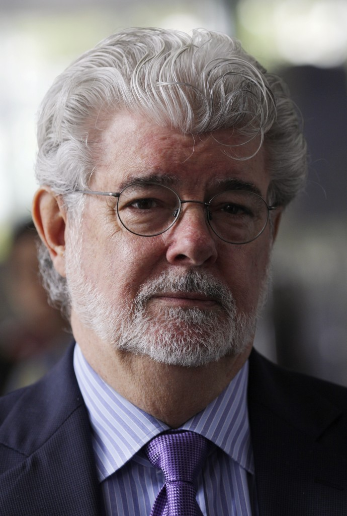 Filmmaker George Lucas. Photo by Edgar Su/Reuters.