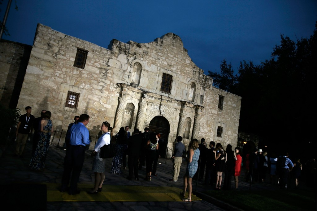 The Spanish Missions, which includes the Alamo, have been awarded world heritage status UNESCO. Photo by Isaac Brekken/Getty Images.