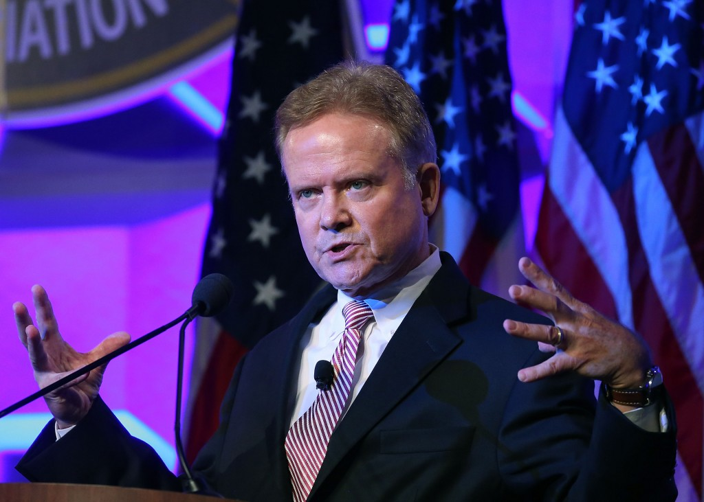 Former U.S. Senator Jim Webb (D) announced Tuesday that he would no longer pursue the Democratic presidential nomination, the Associated Press reported. Photo by Mark Wilson/Getty Images