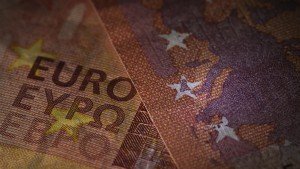 "TO GO WITH AFP STORY ABOUT GREECE A picture taken on July 6, 2015 in Paris show 10-euro banknotes with euro written in Greek in the middle. Grexit threat puts Europe in tricky position a day after the 'No' vote in the Greek referendum . Ahead of the vote, European politicians had queued up to take an uncompromising line, warning that a 'No' vote could bring dire consequences. European Commission chief Jean-Claude Juncker had declared that a 'No' vote would be a ""no to Europe"". AFP PHOTO / JOEL SAGET        (Photo credit should read JOEL SAGET/AFP/Getty Images)"