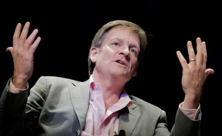 "A bootleg copy of author Michael Lewis's memoir about Wall Street excesses, ""Liar's Poker,"" was posted on the official website of the Chinese Commerce Ministry. Photo by T.J. Kirkpatrick/Getty Images"