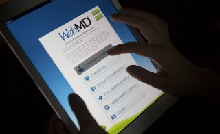 A Harvard Medical Study revealed that online symptom checkers like WebMD are not entirely effective at diagnosing illnesses. Photo by Andrew Harrer/Bloomberg via Getty Images