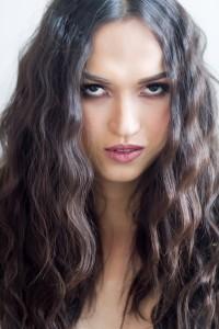 Angel Qinan, model from Apple Model Management