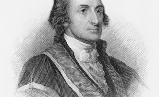 American statesman, Patriot, diplomat, Founding Father of the United States, and signer of the Treaty of Paris, John Jay, circa 1785. From an original engraving by H.B. Hall. Photo by Kean Collection/Getty Images