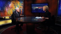 Jimmy Carter with Judy Woodruff