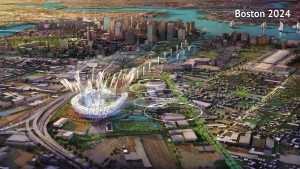 A proposed Olympic Stadium in Boston, Massachusetts is seen in this handout image made available January 21, 2015 by the Boston2024 group, which is organizing Boston's bid to host the 2024 Summer Olympics. REUTERS/Boston2024/Handout via Reuters (UNITED STATES - Tags: SPORT OLYMPICS)ATTENTION EDITORS - THIS IMAGE HAS BEEN SUPPLIED BY A THIRD PARTY. IT IS DISTRIBUTED, EXACTLY AS RECEIVED BY REUTERS, AS A SERVICE TO CLIENTS. FOR EDITORIAL USE ONLY. NOT FOR SALE FOR MARKETING OR ADVERTISING CAMPAIGNS - RTR4MDII