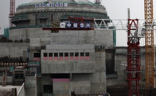 A nuclear reactor, part of the Taishan Nuclear Power Plant, is seen under construction in Taishan, Guangdong province, October 17, 2013. China's nuclear proliferation record  is facing scrutiny as the Obama administration seeks to renew an agreement that enables American involvement China's atomic energy industry. Photo by Bobby Yip/Reuters