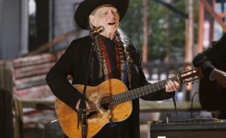 Willie Nelson performs at the 56th annual Grammy Awards in Los Angeles, California January 26, 2014. Photo by Mario Anzuoni