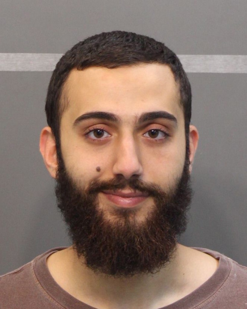 A mugshot of Muhammod Youssuf Abdulazeez from a DUI charge in April in Hamilton County is seen in this handout image provided by the Hamilton County Sheriff's Office. Investigators on Thursday sought to determine what led a 24-year-old gunman to open fire at two military offices in Chattanooga, Tennessee, killing four Marines amd a sailor in an attack officials said could be an act of domestic terrorism. Abdulazeez, identified as the shooter by the Federal Bureau of Investigation, was shot to death in the rampage that also injured three people.  Photo by Hamilton County Sheriff's Office/Handout via Reuters