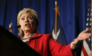U.S. Democratic presidential candidate Hillary Clinton speaks during a campaign event in West Columbia, South Carolina on July 23, 2015. The examination of four American deaths in the 2012 attacks in Libya while Clinton was the Secretary of State could have major repercussions for her 2016 presidential campaign. Photo by Chris Keane/Reuters