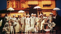 "The cast of the Broadway play ""Ragtime"" performs a scene from the play, during the 1998 Tony Award Ceremonies at Radio City Music Hall in New York, June 7. ""Ragtime"" won six awards in the 130th annual Tony Awards show. - RTXI9JY"