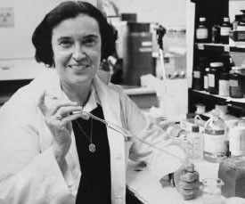 Dr. Rosalyn Yalow at the Bronx Veterans Administration Hospital, Oct. 13, 1977, after learning she was one of three American doctors awarded the Nobel Prize for Medicine. Photo by U.S. Information Agency