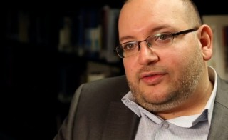 Jailed journalist Jason Rezaian is pictured here in a 2013 file photo by Zoeann Murphy/The Washington Post via Getty Images