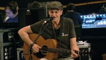 """James Taylor rehearses """"Angels of Fenway"""" for PBS NewsHour"""