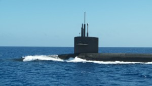 Nuclear-armed submarine, screen grab