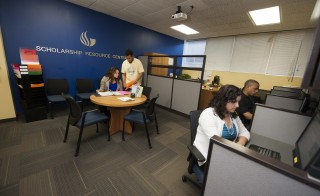 Georgia State University opened a Scholarship Resource Center in 2011 to help students looking for  financial assistance. Photo courtesy of Georgia State University.