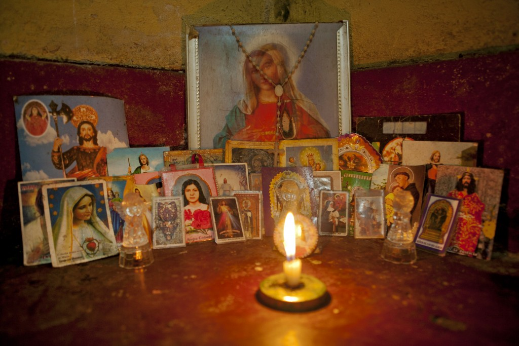 Tamara, who always keeps a collection of saints in the corner of her room with a lit candle, often talks about how she will not live past 30.