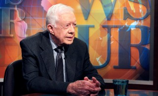 Jimmy Carter on PBS NewsHour , July 2015