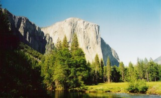 El Capitan, Yosemite National Park, USA. Photo courtesy of Wikimedia Commons.