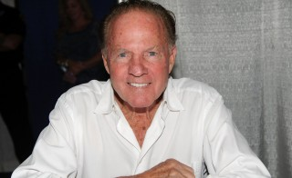 EDISON, NJ - JUNE 11:  American football player, Frank Gifford attends the Collectors Showcase of America at Raritan Center on June 11, 2011 in Edison, New Jersey.  (Photo by Bobby Bank/WireImage)