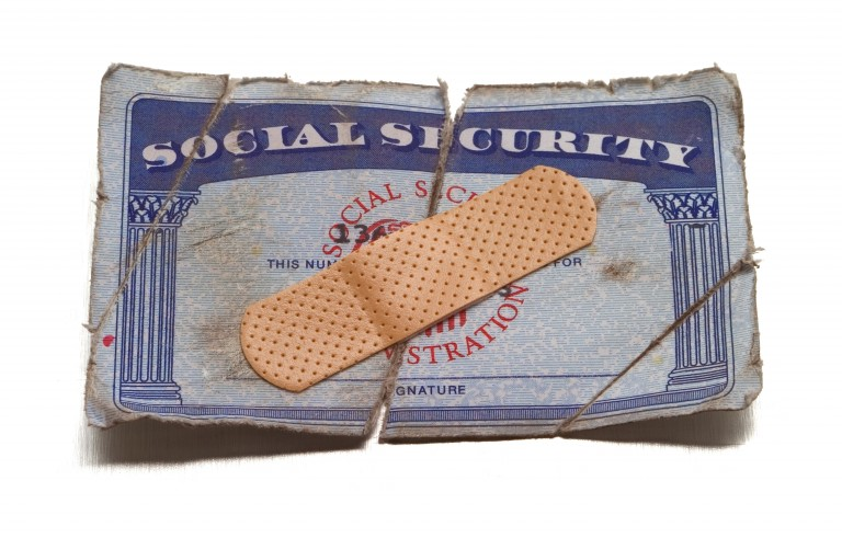 Social Security fix. Photo by  John Kuczala/Getty Images