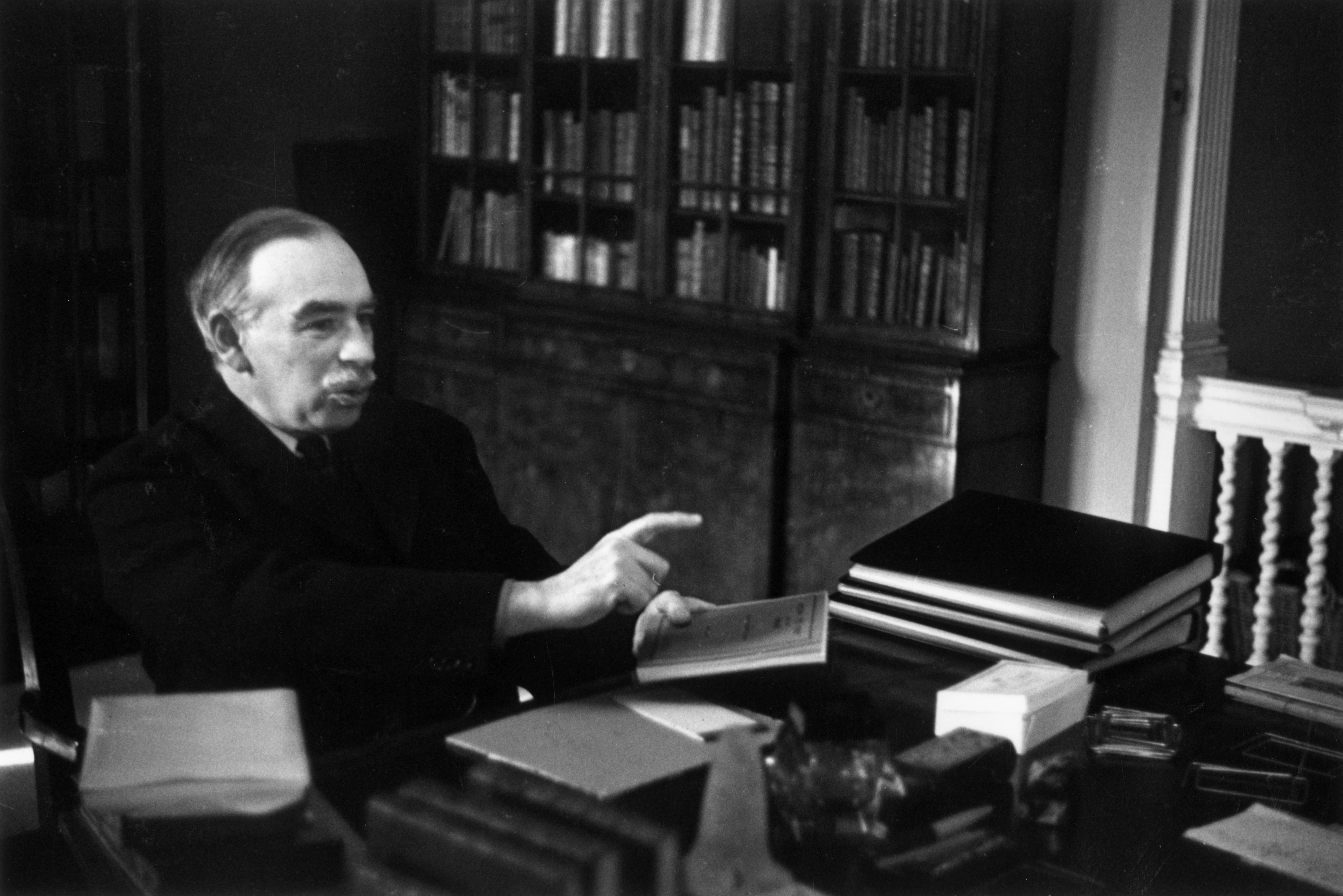 John Maynard Keynes on the stock market this past week | PBS NewsHour