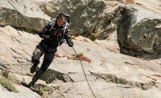 "Bear Grylls appears in episode 204 of his show ""Running Wild with Bear Grylls"" in episode 204. Photo by Mark Challender/NBC/NBCU Photo Bank via Getty Images"