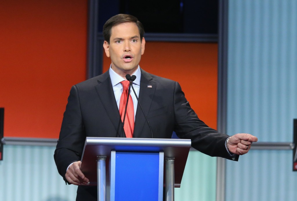 Sen. Marco Rubio (R-Fla.). Photo by Scott Olson/Getty Images