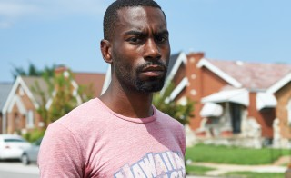 Deray McKesson, an avid protestor and frontline activist, is seen  in St. Louis, Missouri on August 7, 2015. Photo by Michael B. Thomas/AFP/Getty Images