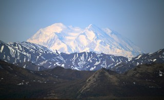 A general view of Mt. McKinley on May 14, 2014 in Denali National Park, Alaska. Photo by Lance King/Getty Images.