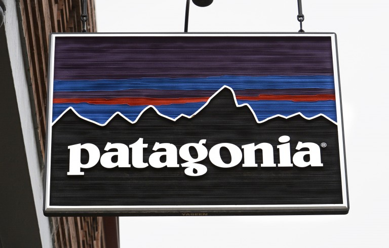 TELLURIDE, CO - JULY 7, 2014: A Patagonia store is among the several shops catering to outdoor enthusiasts in Telluride, Colorado. (Photo by Robert Alexander/Getty Images)