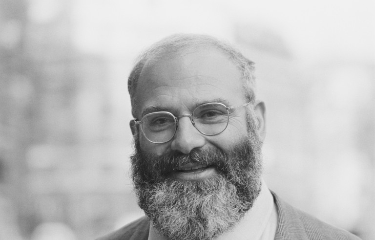 British neurologist and author, Oliver Sacks pictured in London on 10th March 1983. (Photo by United News/Popperfoto/Getty Images)
