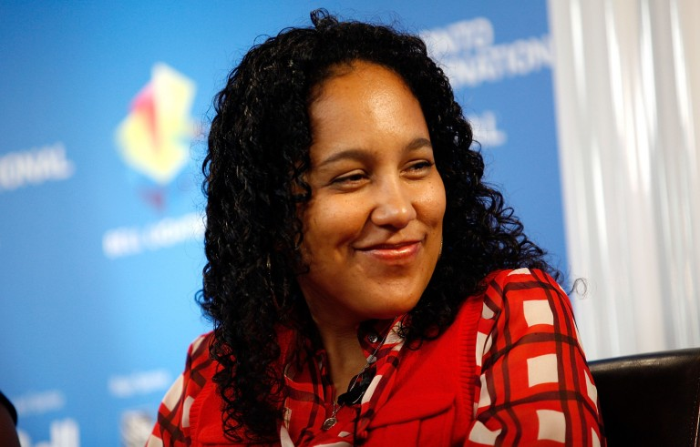 "TORONTO, ON - SEPTEMBER 06:  Director Gina Prince-Bythewood speaks at the ""The Secret Life of Bees"" press conference during the 2008 Toronto International Film Festival held at the Sutton Place Hotel on September 6, 2008 in Toronto, Canada.  (Photo by Malcolm Taylor/Getty Images)"