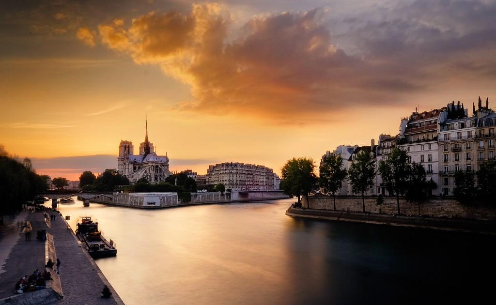 Landscape and fine art photographer Karen Hutton's view of Notre Dame in Paris. Photo courtesy of Karen Hutton