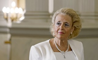 Greece's top Supreme Court judge Vassiliki Thanou attends a swearing in ceremony as the country's caretaker Prime Minister, at the Presidential Palace in Athens, Greece, August 27, 2015. Thanou, 65, will be sworn in on Thursday to head a caretaker government that will lead the country to elections expected on September 20. A vocal anti-austerity advocate, she made a name for herself as a judge who openly battled against wage cuts imposed on the Greek judiciary to appease European and International Monetary Fund lenders. REUTERS/Alkis Konstantinidis - RTX1PY5M