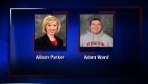 WDBJ in Roanoke, Virginia, tweeted this image of its reporter and cameraman who were killed Wednesday morning during a live TV report.