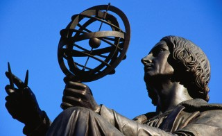 Monument to Nicholas Copernicus. Photo by Krzysztof Dydynski and Getty Images