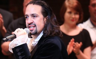 Lin-Manuel Miranda during the Broadway opening night performance of 'Hamilton' at the Richard Rodgers Theatre on August 6, 2015 in New York City. Photo by Walter McBride/WireImage