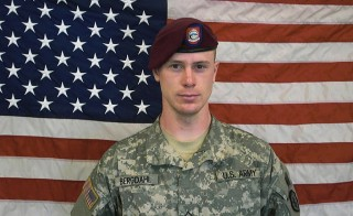 U.S. Army Sgt. Bowe Bergdahl was captured by the Taliban in Afghanistan after leaving his military outpost on June 30, 2009. He was released five years later in a controversial prisoner swap that involved the trade of five former high-ranking members of the Taliban government from the U.S. detention facility in Guantanamo Bay, Cuba. Photo by U.S. Army via Getty Images