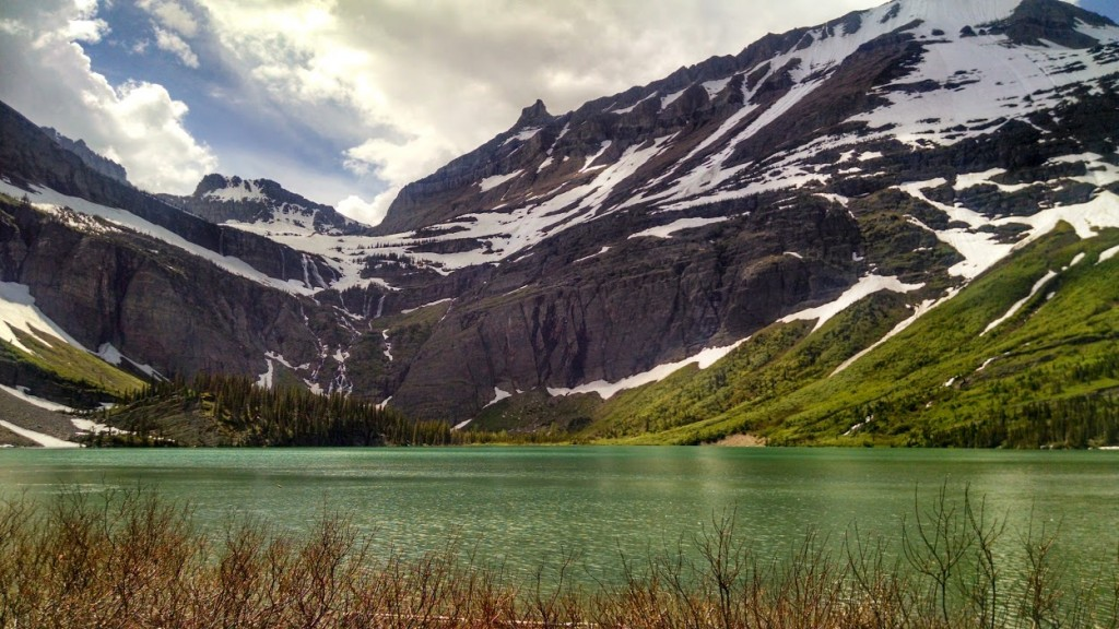Grinnell Lake in East Glacier National Park. Photo by Catherine Woods