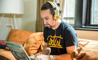 Lin-Manuel Miranda is seen in New York, New York on  Sept. 2, 2015. Photo courtesy of the John D. and Catherine T. MacArthur Foundation