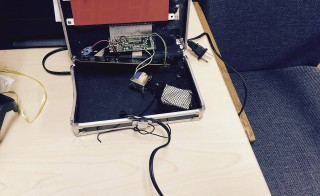 A homemade clock made by Ahmed Mohamed, 14, is seen in an undated picture released by the Irving Texas Police Department September 16, 2015. Mohamed was taken away from school in handcuffs after he brought the clock to his Dallas-area school this week and the staff mistook it for a bomb, police said on Wednesday. Photo by Irving Texas Police Department/Handout via Reuters