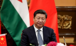 China's President Xi Jinping attends a signing ceremony with King of Jordan Abdullah II (not pictured) at the Great Hall of the People in Beijing, China, on Sept. 9. Photo by Lintao Zhang/Pool via Reuters