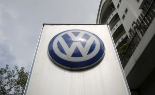 The Volkswagen logo is pictured at a dealership in Mumbai, India, September 22, 2015. The scandal engulfing Volkswagen, which has admitted cheating diesel vehicle emissions tests in the United States, spread on Tuesday as South Korea said it would conduct its own investigation and a French minister called for an EU-wide probe.  REUTERS/Shailesh Andrade  - RTX1RTW9