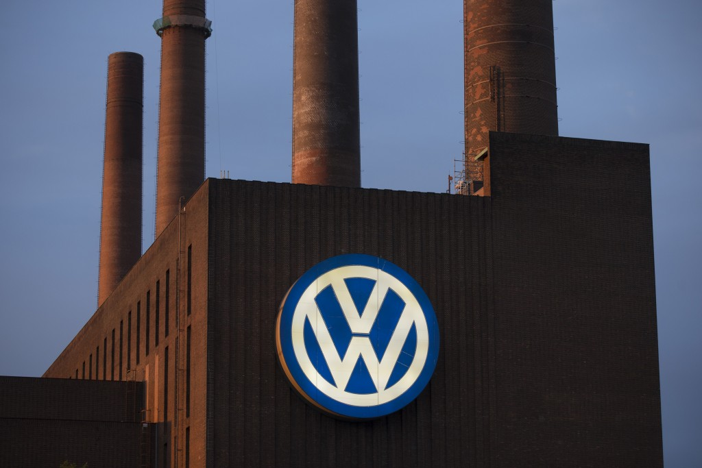 General view of the Volkswagen power plant in Wolfsburg, Germany September 22, 2015. Forty-five states have joined the Volkswagen probe, looking into how the automaker rigged its software to game emissions tests. State attorney generals are likely to seek an enormous settlement for VW's wrongdoing, which affects nearly half million cars in the United States, experts said. Photo by Axel Schmidt/Reuters