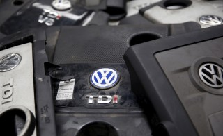 "Covers for TDI diesel Volkswagen engines are seen in this illustration in second-hand car parts in Jelah, Bosnia and Herzegovina, September 26, 2015. The EU could introduce tougher car emissions tests in the wake of the Volkswagen rigging scandal, senior European officials said. The German carmaker named company veteran Matthias Mueller as its new chief executive on Friday in an attempt to get to grips with a crisis that its chairman described as ""a moral and political disaster"".  REUTERS/Dado Ruvic - RTX1SMVY"