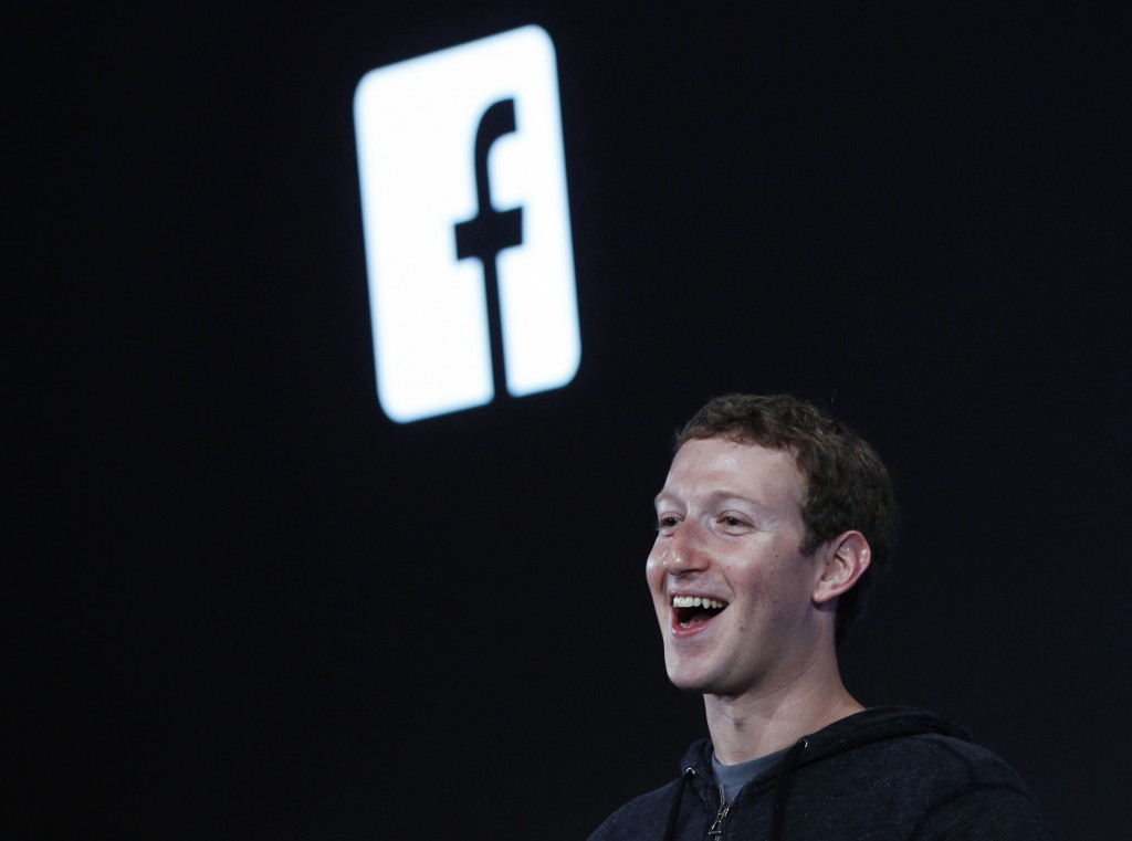 Mark Zuckerberg, Facebook's co-founder and chief executive announced Tuesday that Facebook would develop a 'dislike' button.  REUTERS/Robert Galbraith